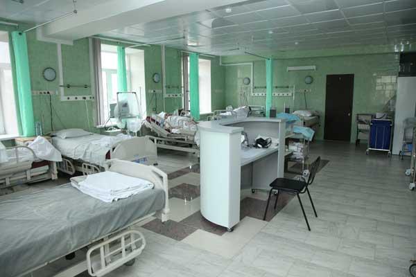 Октябрьский больница регистратура